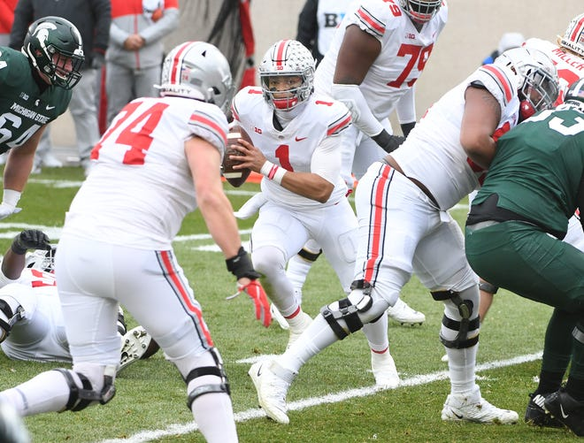 Ohio State and quarterback Justin Fields take on Northwestern in the Big Ten championship game.