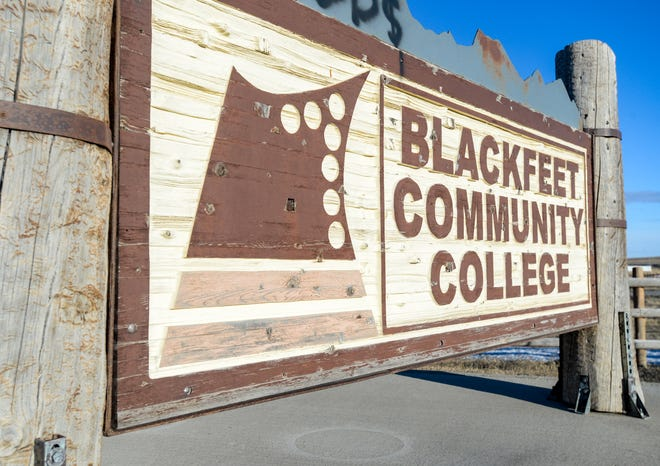 Blackfeet Community College in Browning, Montana.