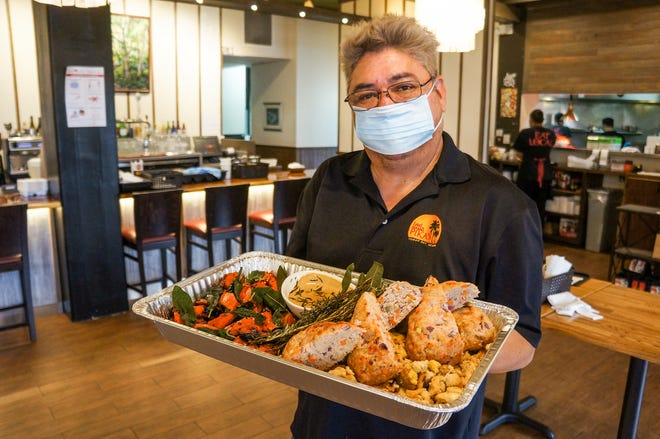 Pika's Café will be open Christmas Day and is also offering holiday platters for takeout or curbside pickup.