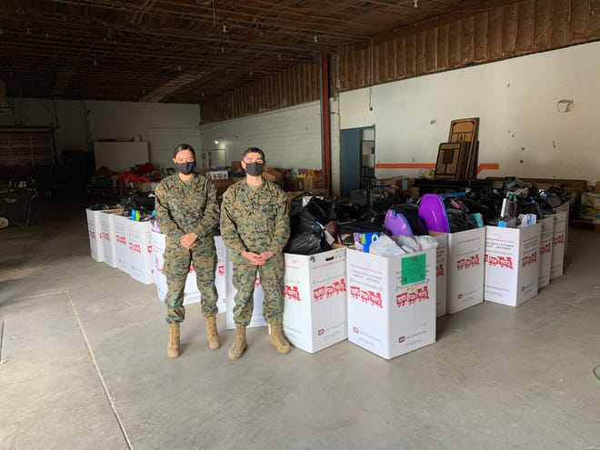 Toys for Tots is a program run by the United States Marine Corps Reserve which distributes toys to children whose parents cannot afford to buy them gifts for Christmas.