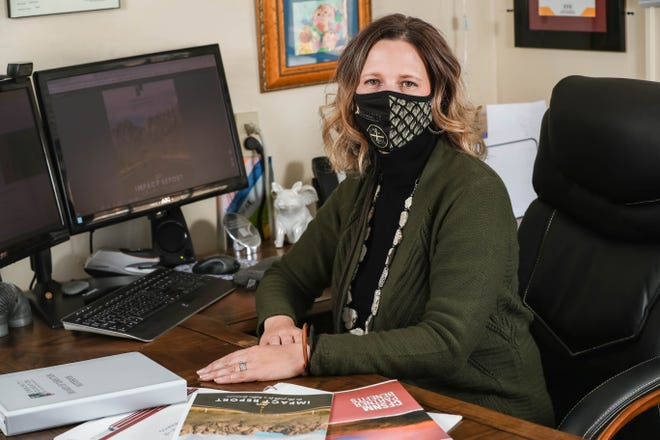 Terra Winter is CEO and president of the Community Foundation of Southern New Mexico. Pictured Thursday, Dec. 17, 2020.