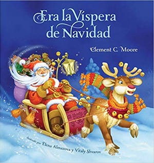 "Ken Ladner and Raul Turrieta will read ""Twas the Night Before Christmas/Era la Vispera de Navidad"" at 7 p.m. Sunday, Dec. 20."