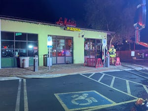 A fire broke out at Lou Malnati's, a popular pizza restaurant, at 56th Street and Indian School Road on Dec. 16, 2020, Phoenix Fire Department officials say.