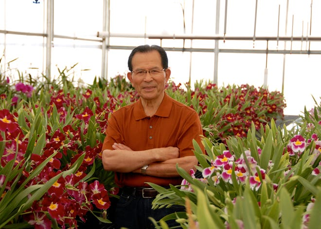 The late Toshikiyo ÒAndyÓ Matsui is photographed inside Matsui Nursery in Salinas, Calif.