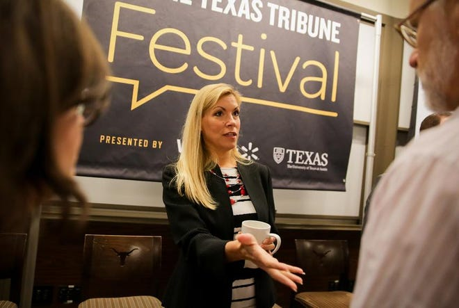 Beth Van Duyne at the 2017 Texas Tribune Festival. The former Irving mayor won a North Texas congressional seat in November.