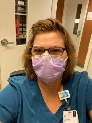 Cindy Obenschain is the lead dental assistant for UVA Health System. The Waynesboro woman will get the COVID-19 vaccine Monday.