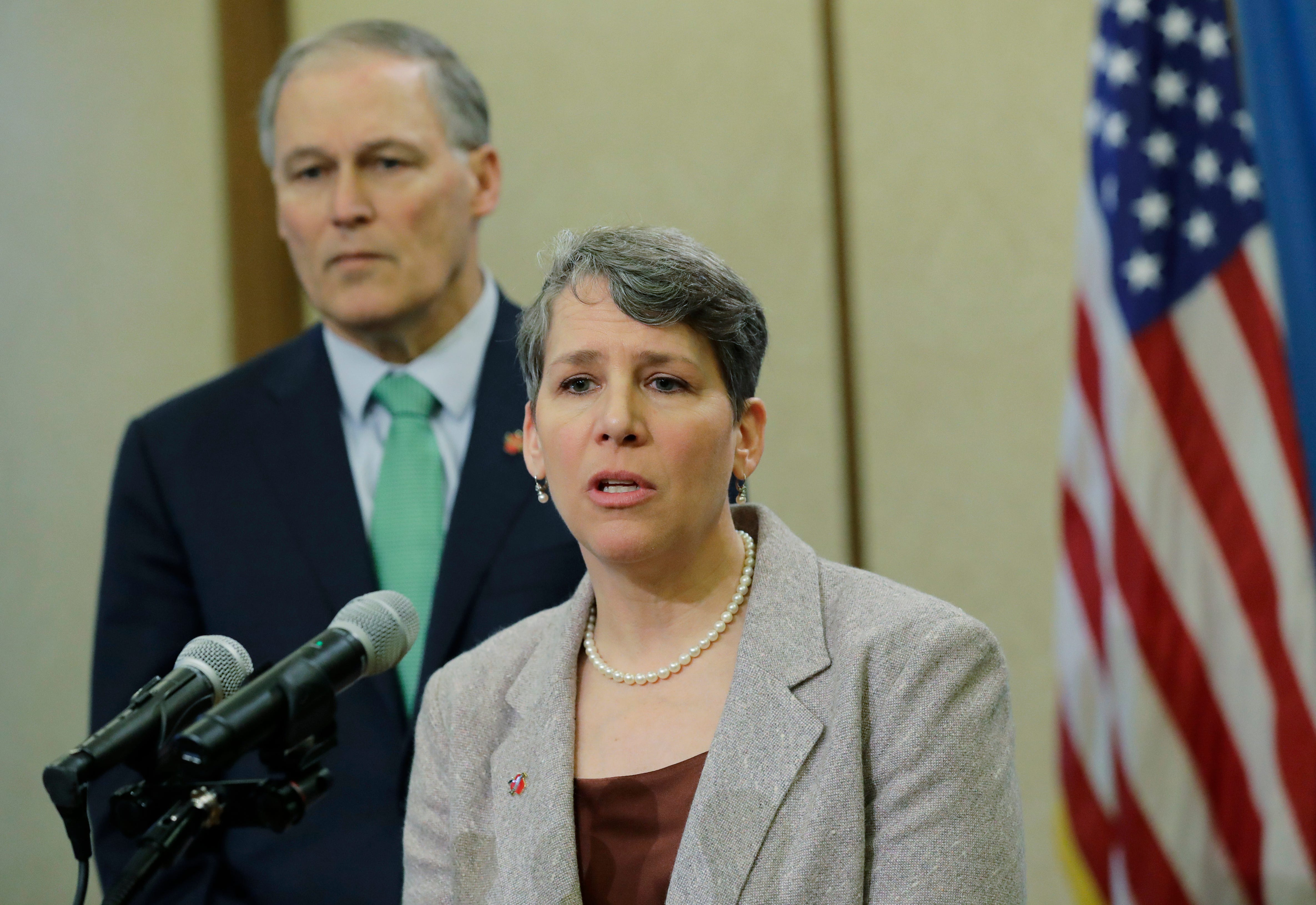Suzi LeVine, commissioner of Washington state's Employment Security Department, said she knew something was wrong this spring when the number of jobless claims being filed was 10-fold what she expected. The wave of imposter fraud led to $600 million in improper payments and calls for Gov. Jay Inslee to fire LeVine. The state has recovered $357 million so far.