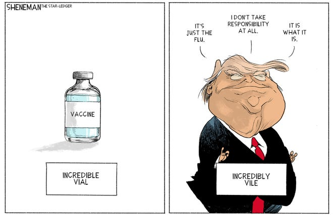Cartoon by Drew Sheneman