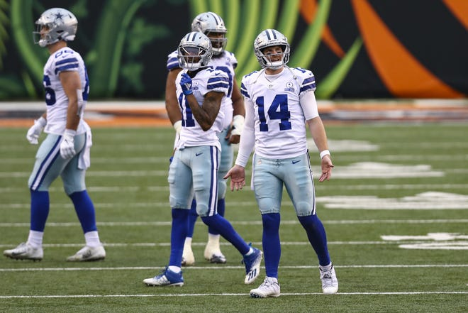 Dallas quarterback Andy Dalton is set to make his seventh start since Dak Prescott went down with an injury. Dalton is coming off a season-high 122.6 passer rating in a30-7 win at Cincinnati.