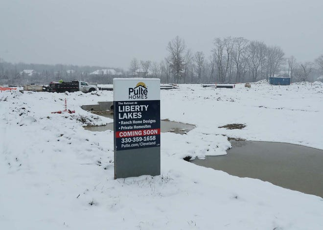 Construction on The Retreat at Liberty Lakes in northern Twinsburg Township is expected soon.