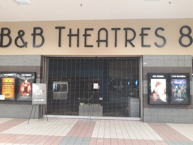 B&B Theatres, located within the VIllage Square Mall, reopened on Dec. 11 following a short closure after two employees tested positive for COVID-19, prompting them to quickly respond with their anti-virus procedures.