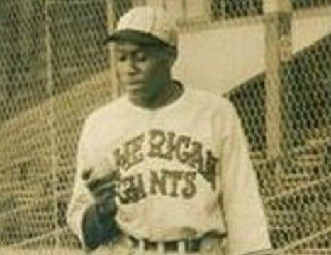 """Ted """"Big Florida"""" Trent spent the last several years of his Negro Leagues career with the Chicago American Giants."""