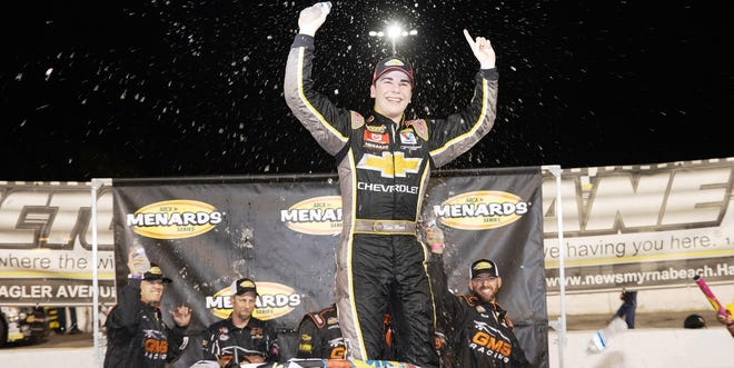 Sam Mayer turned his ARCA win last season in New Smyrna into an Xfinity ride this upcoming year.
