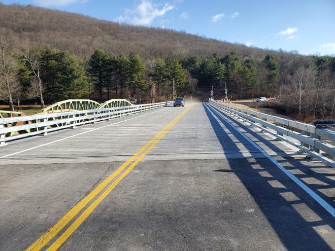 The County Route 119 bridge over the Canisteo River in the Town of Cameron opened Dec. 8.