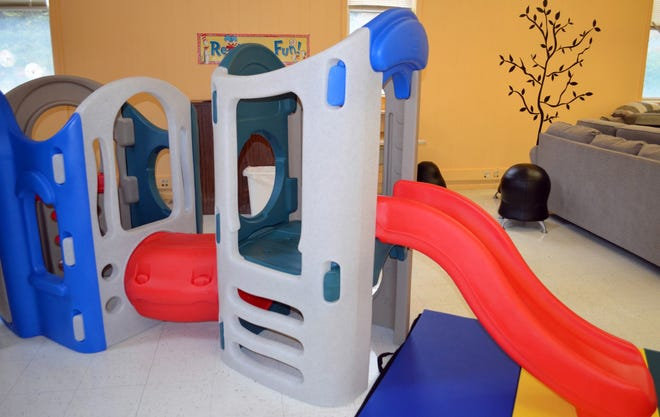 There is a new children's indoor play set for Arc Herkimer's Valley Commons Parental Education Program, thanks to a donation from Stewart's holiday match program.