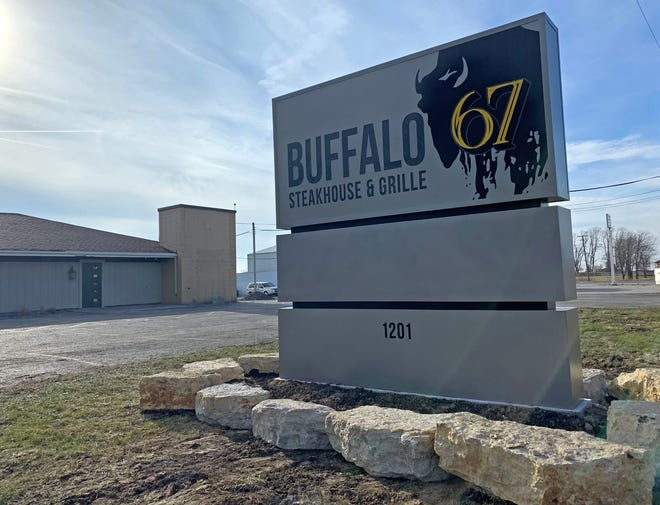 Buffalo 67 Steakhouse and Grille is now open for carryout business in Monmouth. Chase  Gibb announced in May he would take over the former Barnstormer at 1201 W. Broadway and turn it into a regional dining destination once again.