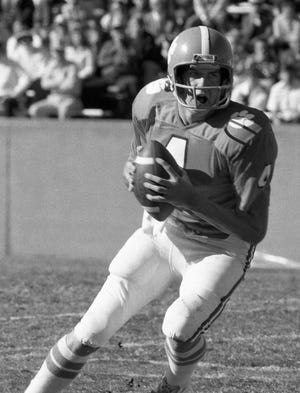 Clemson quarterback Steve Fuller (4), shown in a 1975 game, vividly recalls the Tigers' first game against Notre Dame in 1977 and what it meant to the future of the program.