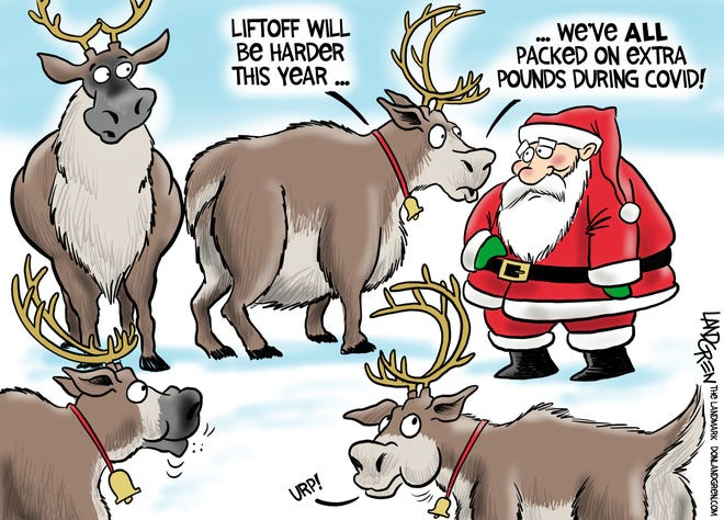 Each month, Don Landgren offers a humorous take on subjects near and dear to those in the Wachusett region. To reach Don, email cartoons@partoons.net.