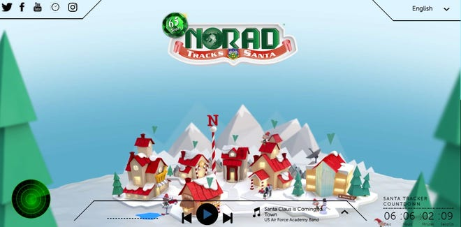 NORAD Tracks Santa went live Dec. 1 and has a host of fun activities for kids.