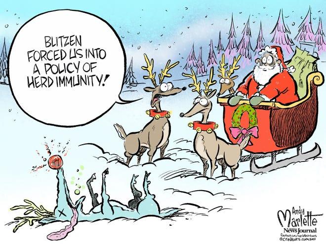 Today's editorial cartoon (Dec. 20, 2020)