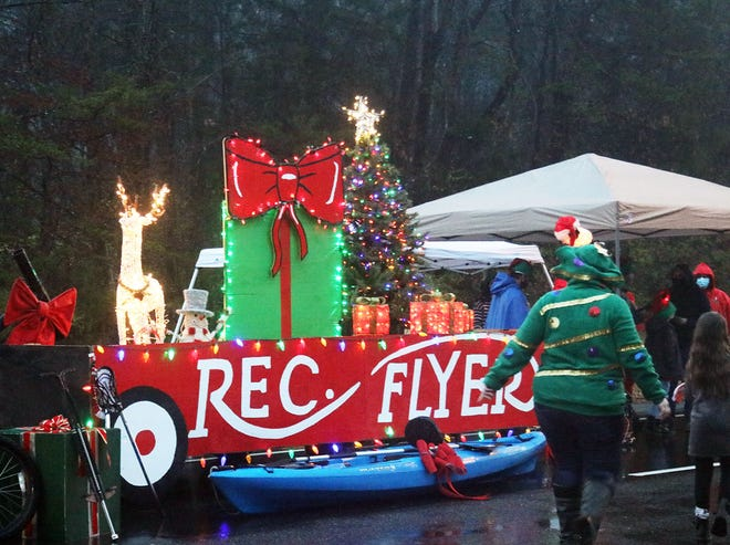 To be COVID-19 safe, the Oak Ridge Chamber of Commerce held the 2020 Christmas Parade in reverse last Saturday. The parade was parked while the people drove by in their vehicles to view the floats and their neighbors. Here are a few of the scenes captured by D. Ray Smith, who writes the 'Historically Speaking' column for The Oak Ridger.