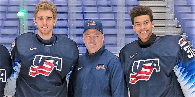 David Lassonde, a Durham resident and former coach with the University of New Hampshire men's hockey team, was hired by USA Hockey in August to be part of the United States National Team Development Program.