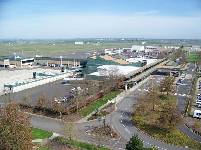 Eugene's airport, Mahlon Sweet Field, achieved recognition from the Transportation Security Administration for its excellence among airports of its size.