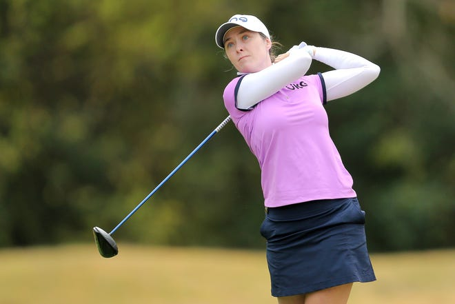 Brittany Altomare of Shrewsbury is at 2-over 146 entering Saturday's third round of the LPGA Tour's CME Group Tour Championship.
