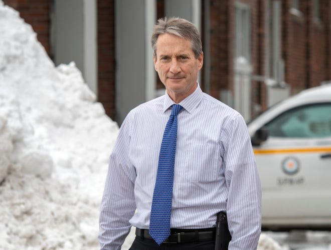 Jay J. Fink, the new commissioner of the Department of Public Works & Parks in Worcester.