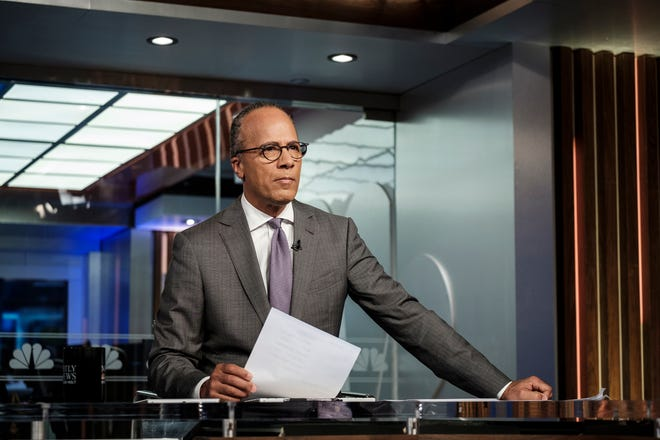 """NBC Nightly News"" anchor Lester Holt occasionally ends his broadcasts now with commentaries, an unusual departure for network evening newscasts that have a lengthy track record of playing it straight."