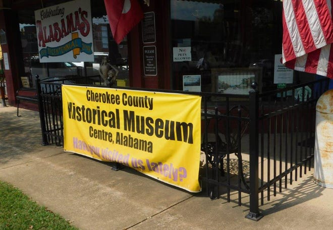 The Cherokee County Historical Museum is shown in 2019 during several activities emphasizing Alabama's 200th anniversary as a state.