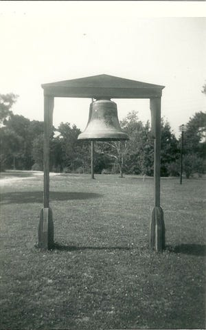 A 2,000-pound bell remained untouched for several decades on the Panama City Garden Club property at 810 Garden Club Drive at Bay Memorial Park until December, when it was discovered missing.