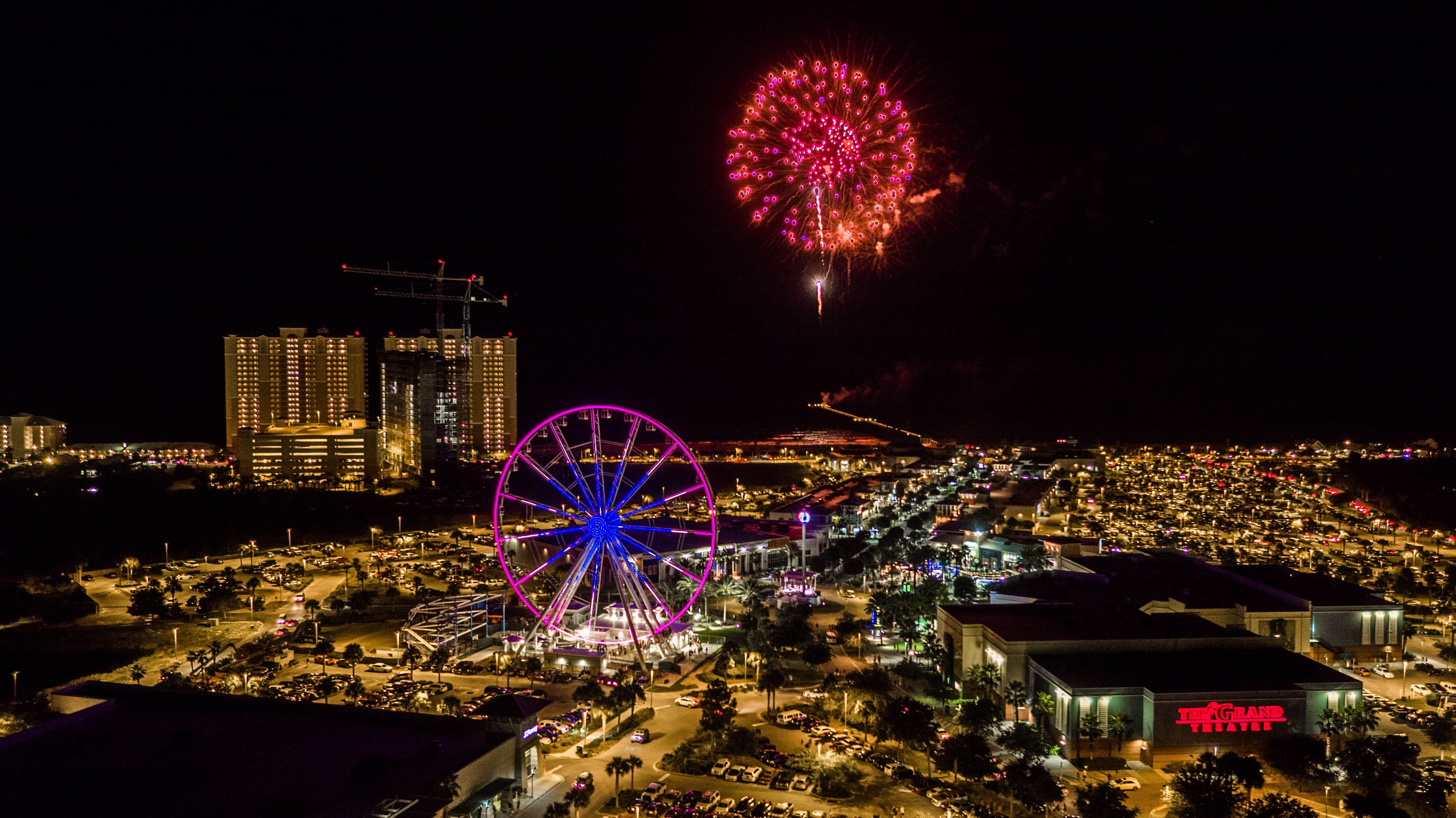 Panama City Beach Christmas Events 2021 Panama City Beach Says Goodbye To 2020 With Fireworks