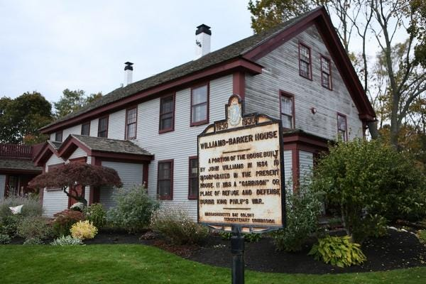 The Barker Tavern in Scituate has not only lost dining revenue since the pandemic began, but revenue from weddings and other big events as well, which had to be cancelled or downsized.