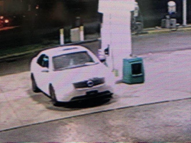 Police say this is the vehicle that was stolen while the baby was still inside.