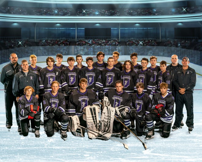 The Evansville Thunder high school hockey team will compete in the 2021 USA Hockey National Tournament.