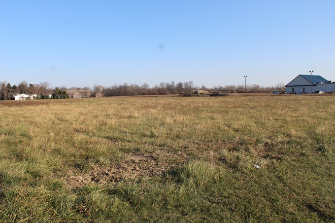 Fremont City Council approved a rezoning ordinance Thursday that would permit a developer to build a senior living facility on this 5.57-acre Fangboner Road property, which is behind Jimmy John's sandwich shop in the Ohio 53 Sean Center.