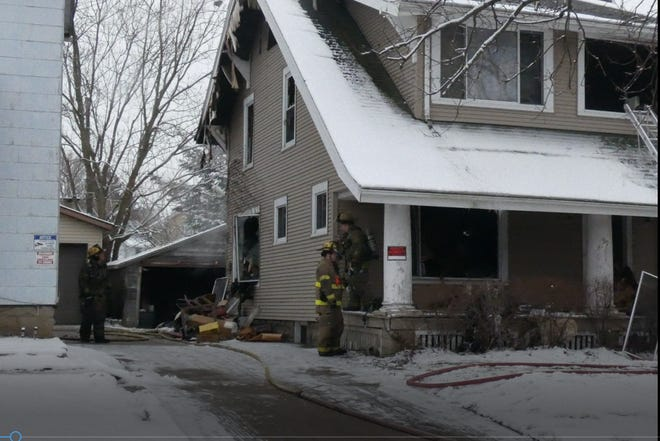 One person is dead and another person injured following a fire at 7:44 a.m. Friday at Dawson Ave., according to Mansfield fire Chief Steve Strickling.