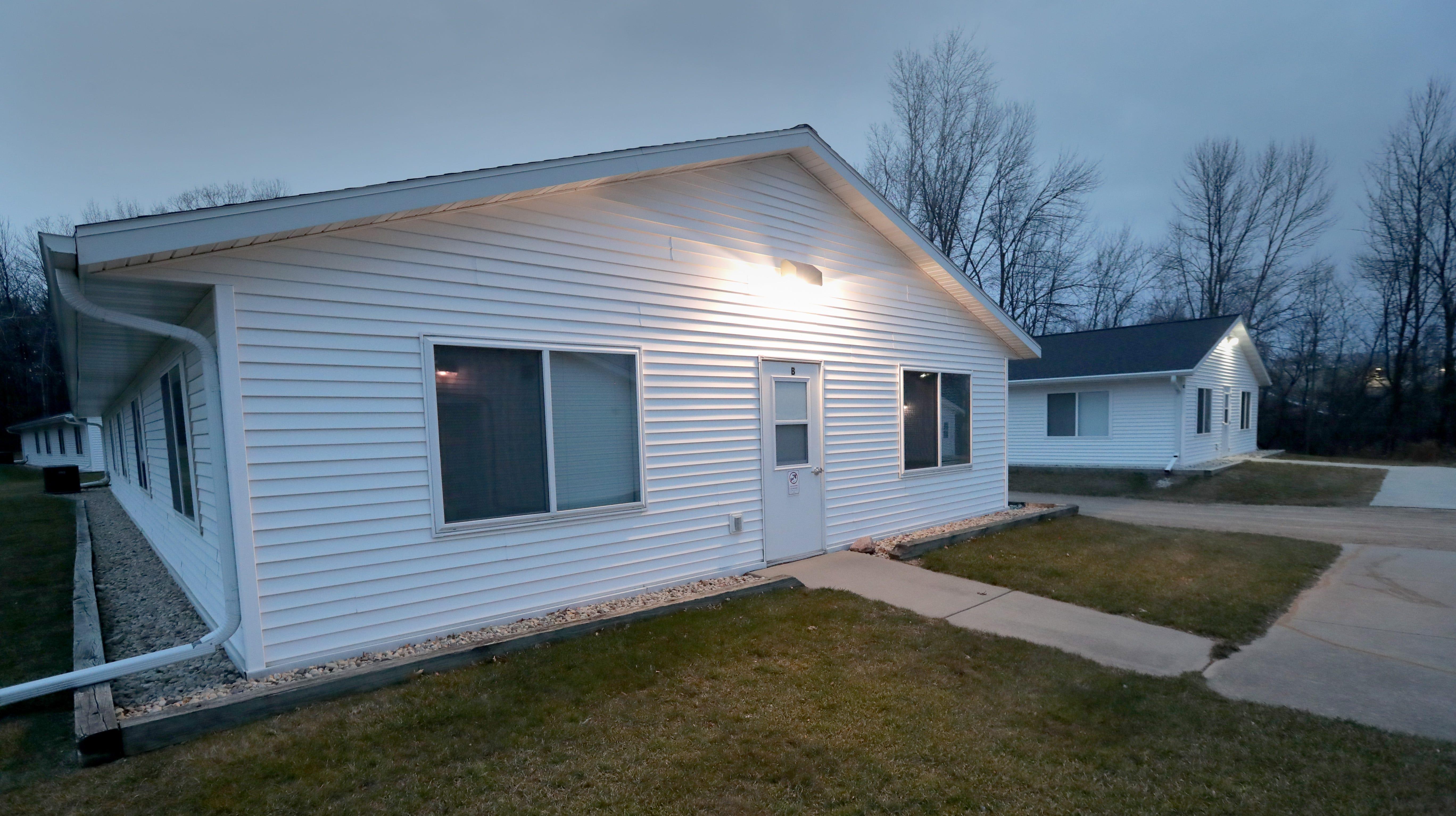 Housing for migrant workers at Seneca Foods in Gillett, Wisconsin.