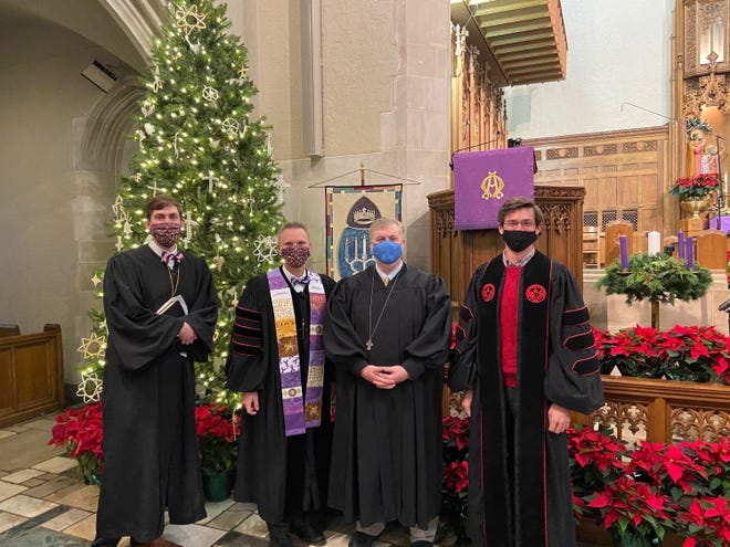 First United Methodist Church of Montgomery will offer nine types of Christmas services over three days - Dec. 23, Christmas Eve and Christmas Day.