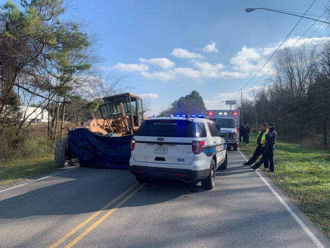 Fatal crash investigators with Murfreesboro police are investigating a deadly incident that occurred Thursday, Dec. 17, 2020, when a road grader accidentally backed over a flagman directing traffic. The flagman died at the scene.