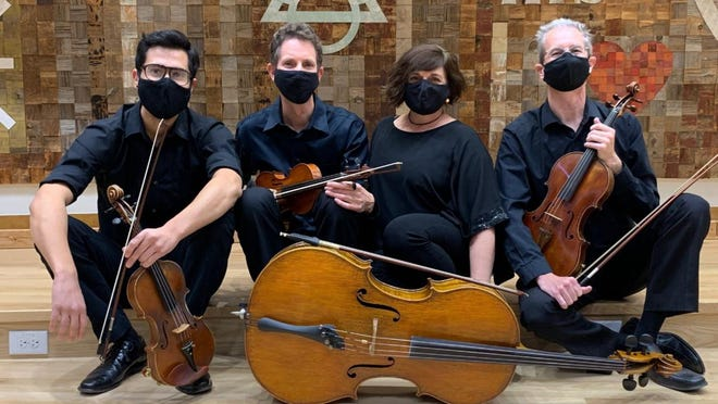 The Petroglyph String Quartet, made up of members of the San Juan Symphony, is featured in a new video on the organization's website.