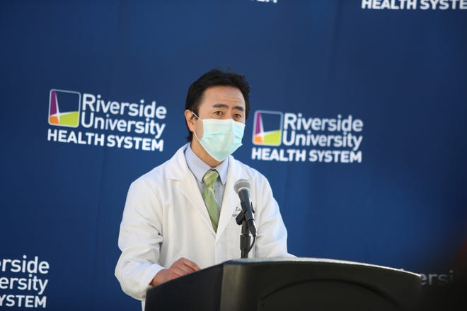 """Dr. Geoffrey Leung, public health officer for Riverside County, said: """"This tragedy reminds us that this virus does not discriminate between the young and old. The death of this child strengthens our commitment to halt this pandemic before the loss of another young life."""""""