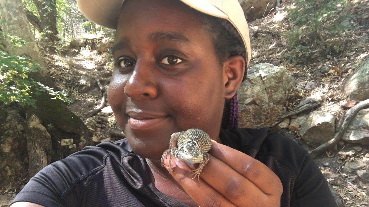 Meet the Arizona grad student and `lizard lady`...