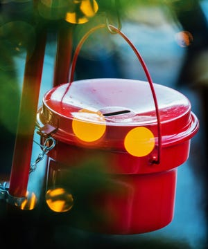 The Salvation Army's red kettle campaign is a Christmas tradition.