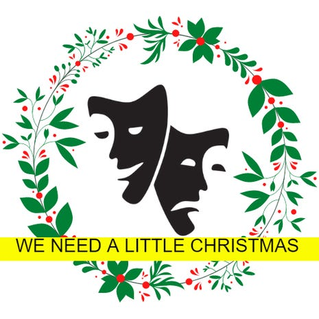 """Backdoor Theatre's """"We Need a Little Christmas"""" will be performed via Zoom Friday and will be available on their website after Saturday."""