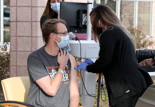The Wichita Falls-Wichita County Public Health District said they are receiving a high volume of calls about how to get on the COVID-19 vaccine waiting list. There are approximately 7,000 people on the waiting list and they have paused adding new names until they transition to a new online system.