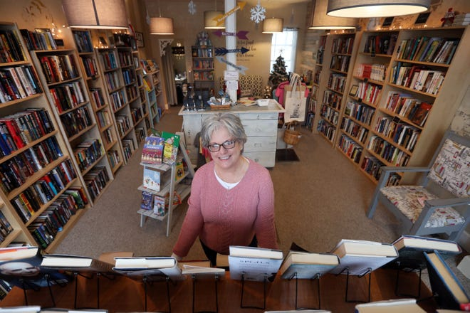 Cindy Rhodes owns the Empty Nest Bookstore in New Concord.  She gave the store its name because it helps keep her busy since her children have grown and moved out.