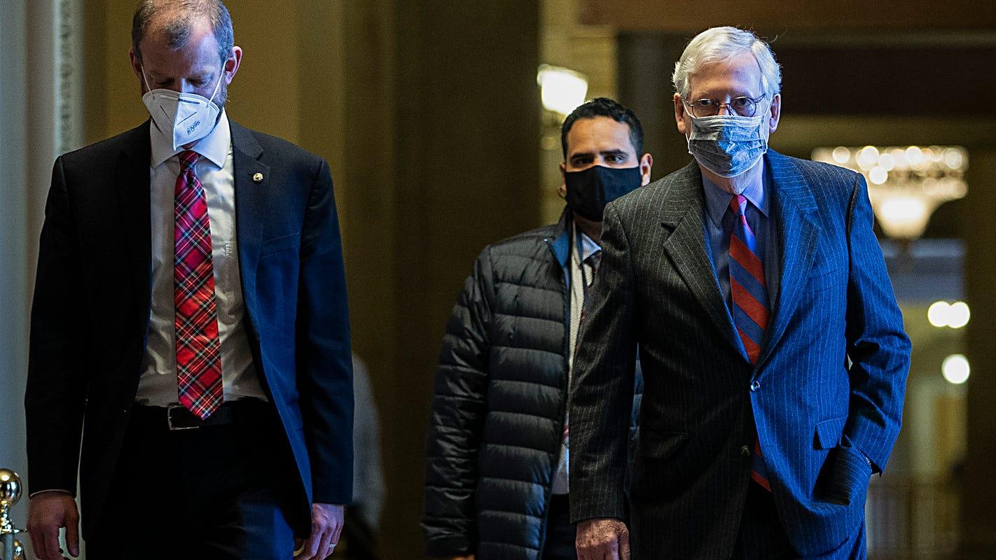 Politics live updates: Biden team cries foul over halt in Pentagon talks; Congressional leaders get first dose of vaccine