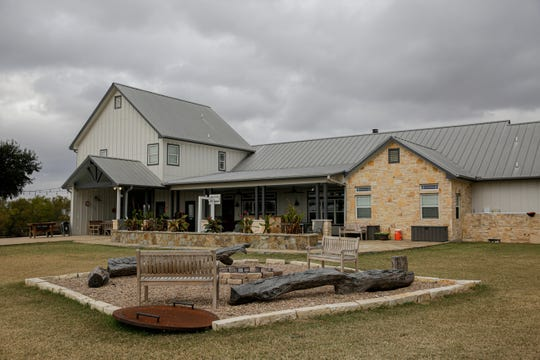 Ranch House Recovery can be seen near Simple Promise Farms in Elgin, Texas on Friday, Nov. 13, 2020. The house is a 12-bed facility where residents can stay anywhere from 60 to 90 days. Some residents have stayed for several months working on their sobriety and the 12-step program.